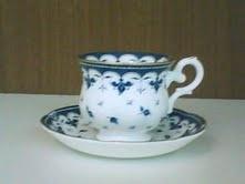 Xícara de Café Blue Leaf - 6 pçs