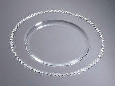 Sousplat Clear Points - 31,5cm